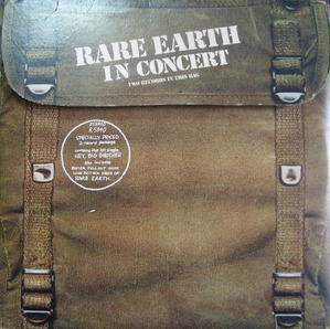 "RARE EARTH - In Concert  (2LP) ""RECORD R534D"""