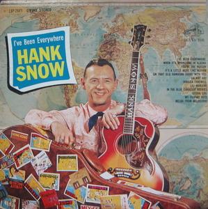 "Hank Snow - I've been everywhere (""팔도유람 원곡"")"