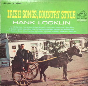 HANK LOCKLIN - 'IRISH SONGS COUNTRY STYLE'