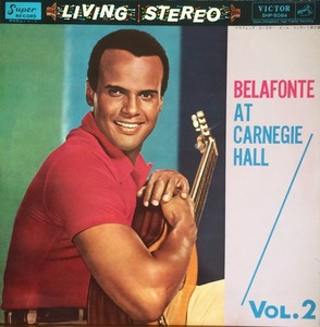 HARRY BELAFONTE - BELAFONTE AT CARNEGIE HALL Vol.2