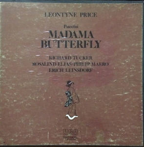 Leontyne Price - PUCCINI Madama Butterfly (3LP/BOX)