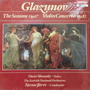 OSCAR SHUMSKY - GLAZUNOV; THE FOUR SEASONS 사계 스코틀랜드 국립/JARVI (미개봉)