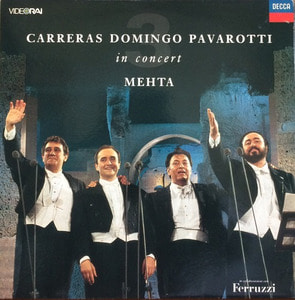 CARRERAS DOMINGO PAVAROTTI - In Concert MEHTA