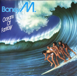 BONEY M - OCEANS OF FANTASY (가사슬리브/해설지)