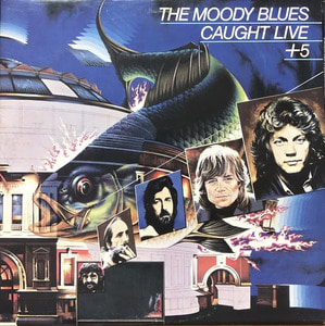 MOODY BLUES - CAUGHT LIVE+5 (2LP)