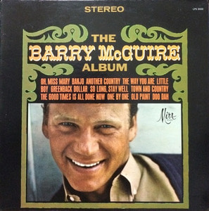 BARRY McGUIRE - The BARRY McGUIRE Album