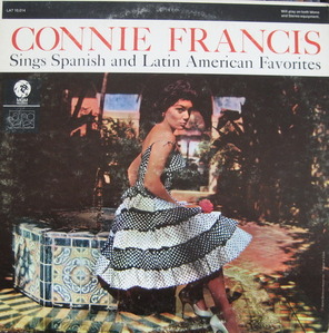 CONNIE FRANCIS - Sings Spanish and Latin American Favorites (MGM SPECIAL DISC) Not For Sale