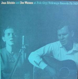 Jean Ritchie and Doc Watson - at Folk City