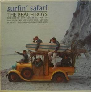 BEACH BOYS - Surfin, Safari