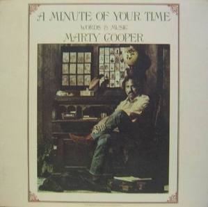 MARTY COOPER - A Minute Of Your Time