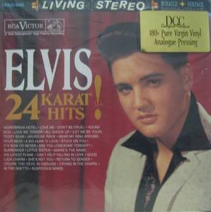 "ELVIS PRESLEY - Elvis 24 Karat Hit ! (""2LP/AUDIOPHILE PRESSING"")"