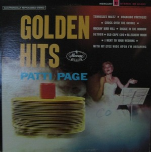 PATTI PAGE - PATTI PAGE GOLDEN HITS