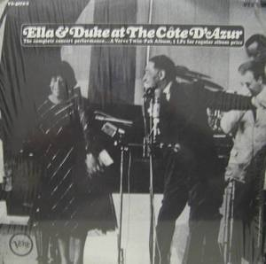 Ella Fitzgerald & Duke Ellington - at The Cote D'Azur (2LP)