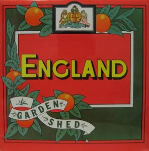 ENGLAND - Garden Shed