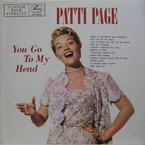 PATTI PAGE - You Go To My Head