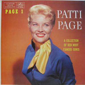 PATTI PAGE - A Collection Of Her Most Famous Songs