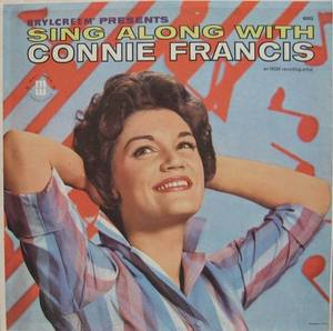 CONNIE FRANCIS - SING ALONG WITH CONNIE FRANCIS
