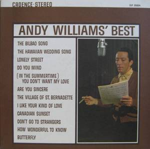 ANDY WILLIAMS - Best