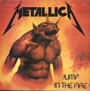 METALLICA - Jump In the Fire (해설지)