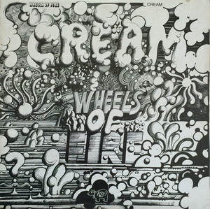 CREAM - WHEELS OF FIRE (2LP)