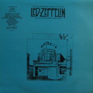 LED ZEPPELIN - THE SONG REMAINS THE SAME (준라이센스/2LP)