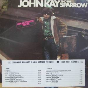 JOHN KAY AND THE SPARROW