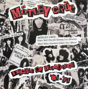 MOTLEY CRUE - DECADE OF DECADENCE 81-91 (2LP)