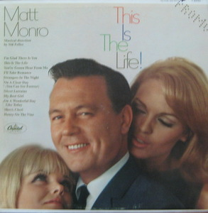MATT MONRO - This Is The Life