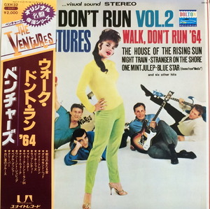 VENTURES - WALK DON'T RUN VOL.2 (OBI')