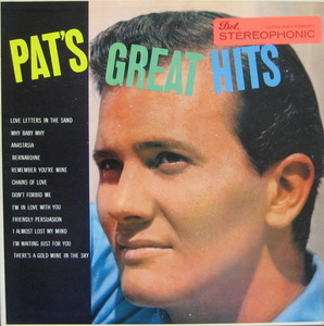 PAT BOONE - PAT'S GREAT HITS