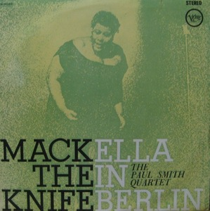 ELLA FITZGERALD - MACK THE KNIFE ELLA IN BERLIN