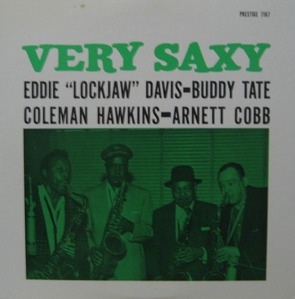 EDDIE LOCKJAW DAVIS - VERY SAXY