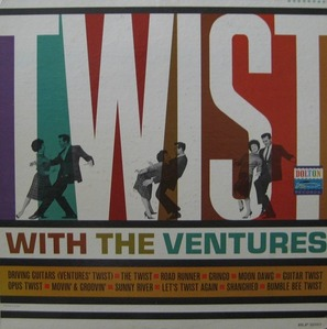 VENTURES - Twist With The Ventures (상하이 트위스트)