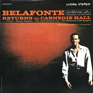 HARRY BELAFONTE - RETURNS TO CARNEGIE HALL (2LP)