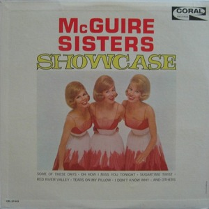 McGUIRE SISTERS - SHOWCASE