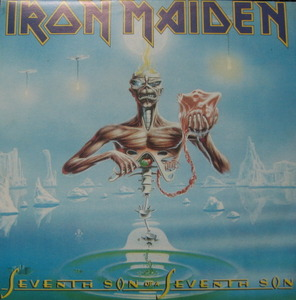 IRON MAIDEN - SEVENTH SON OF A SEVENTH SON (준라이센스)