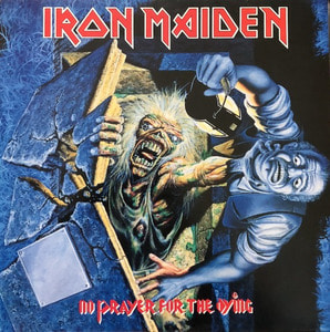 IRON MAIDEN - NO PRAYER FOR THE DYING (해설지)