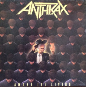 ANTHRAX - Among The Living (해설지)